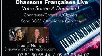 Photo Duo Fred et Nathy - Chansons Françaises #3