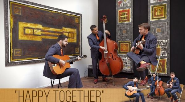 Happy Together - H2R - Groupe de jazz swing pop acoustique