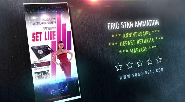 DJ MARIAGE NANTES  - Eric Stan animation sur Nantes - DJ MIXE Live - 44 - Loire Atlantique