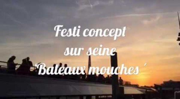 Festi concept bateaux mouches Paris