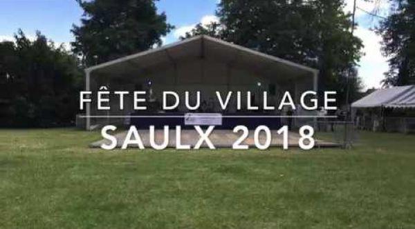 Fête du village Saulx 2018