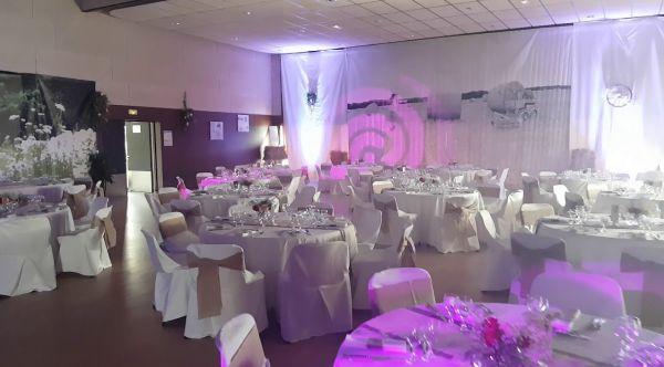 Set up pour grand salle