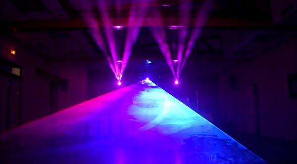 Décibels Music Show Lasers Lyres