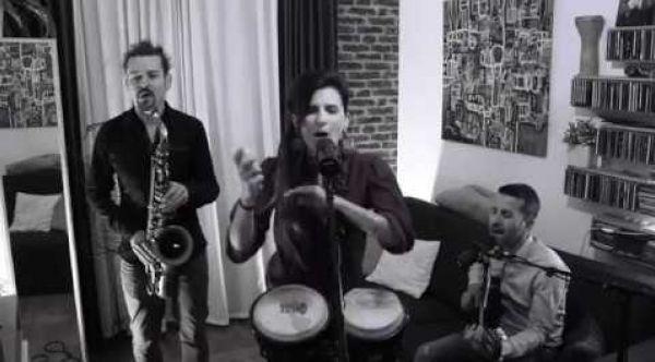 TRIO JAZZ LYON RHONE- Karamelis avec saxophone