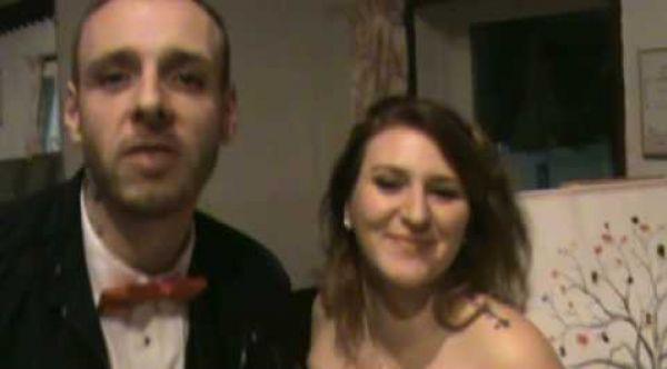Livre d'or remerciement mariage de Jérome et Cyndie