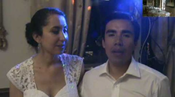 Mariage  mixte Franco-Péruvien livre d'or en vidéo
