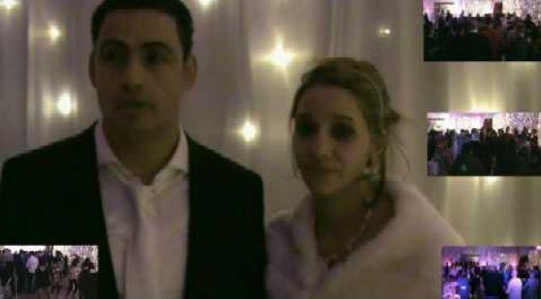 Mariage mixte Franco-Tunisien livre d'or remerciement.