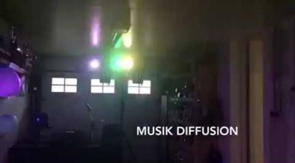 Musik Diffusion Prestation Animation