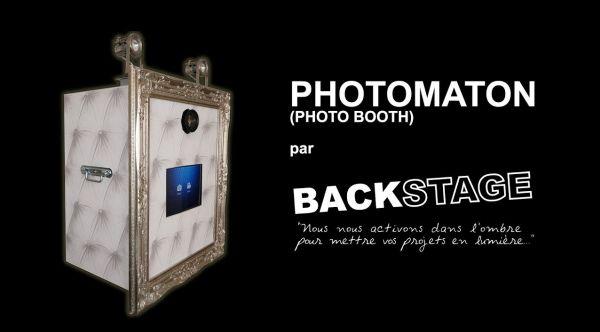 Photomaton (Photo Booth) par BACKSTAGE