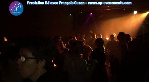 DJ, deejay, François Cuzon, UP! Evénements, soirée dansante.