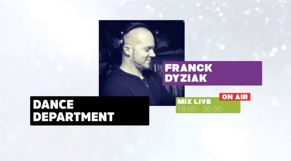 DANCE DEPARTMENT - Mix LIVE 1 MAI 2020 - BY FRANCK DYZIAK