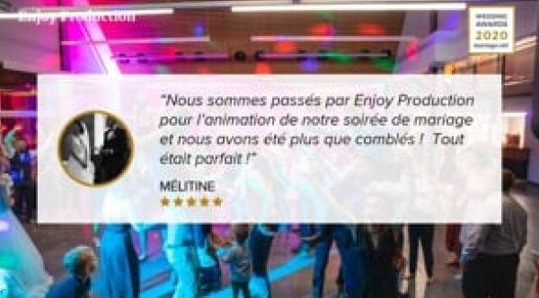 Wedding Awards 2020 mariage.net - Enjoy Production - Mariage Franche-Comté - Polo Viscontini