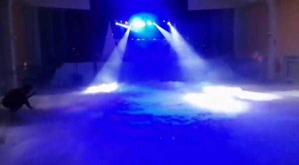 MIEVENT.FR - [DJ SONO] Fumée lourde / brouillard essaie