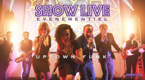 Orchestre Mariage Paris - Uptown Funk - SHOWLIVE événementiel