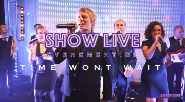 Orchestre Mariage Paris - Time Wont Wait - SHOWLIVE événementiel