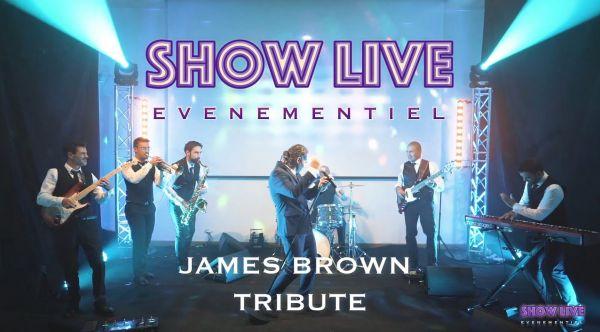 Orchestre Mariage Paris - James Brown Tribute - SHOWLIVE